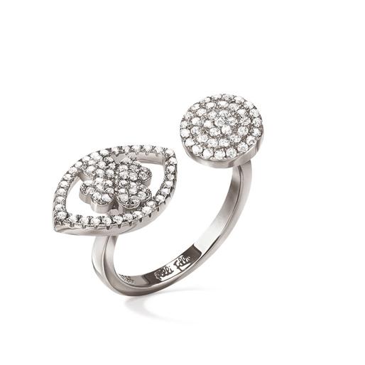 Heart4Heart Mati Silver 925 Ring -