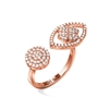 Heart4Heart Mati Rose Gold Plated Ring