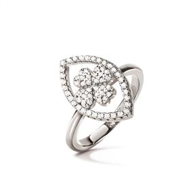 Heart4Heart Mati Silver 925 Ring-