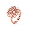 FF Bouquet Silver 925 Rose Gold Plated Small Ring