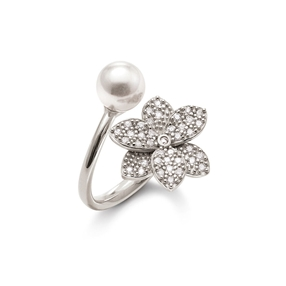 Blooming Grace Silver 925 Ring-