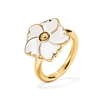 Bloom Bliss Yellow Gold Plated Small Motif Ring