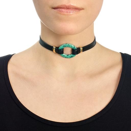Cuban Dream Line Choker Necklace-