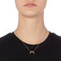 Desert Vibes Line Silver 925 18k Plated Short Necklace-