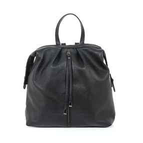 Lady Traveller Medium Leather Backpack-