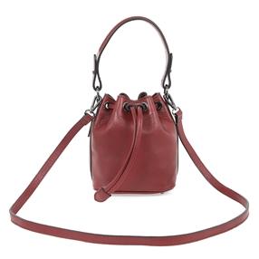 Show Girl Medium Leather Bucket-