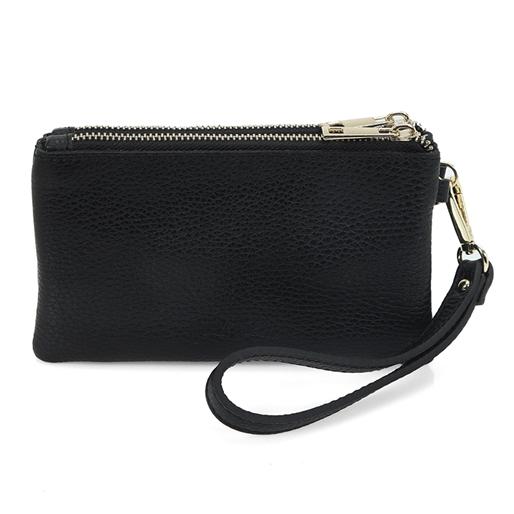 Mini Discoveries Small Leather Wristlet -