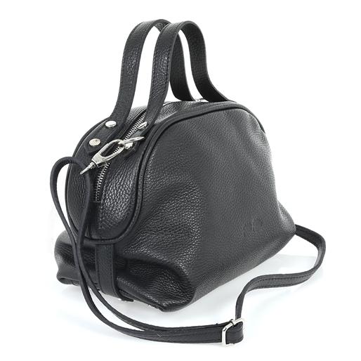 Style Fiesta Μεσαία Δερμάτινη Τσάντα Χειρός-