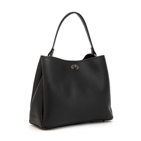 Art Fair Medium Leather Handbag-