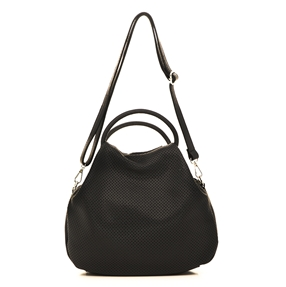 Loop Hoop Leather Handbag-