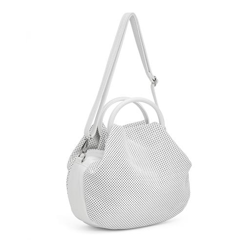 Loop Hoop Leather Handbag-