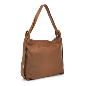 Me Time Medium Leather Shoulder Bag-