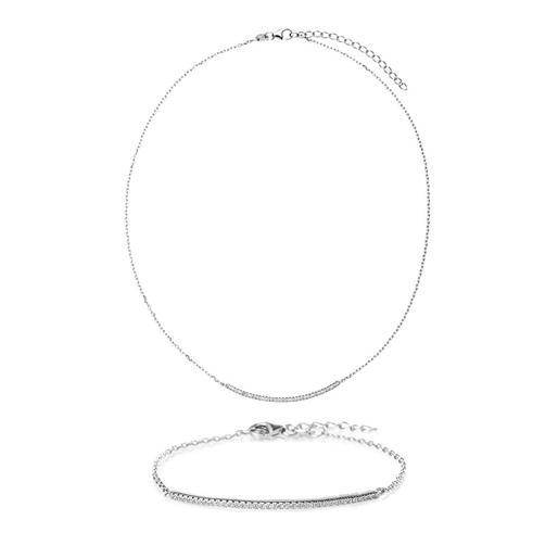 Fashionably Silver Essentials Silver 925 Set-
