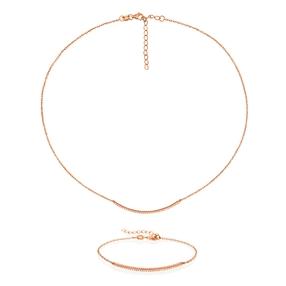 Fashionably Silver Essentials Set-