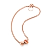 Playful Emotions Rose Gold Plated Love Set Necklace