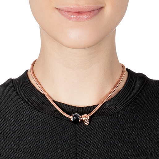 Playful Emotions Rose Gold Plated Confidence Σετ Κολιέ-