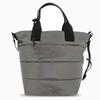 Metallic Puff Medium Tote Shoulder Bag