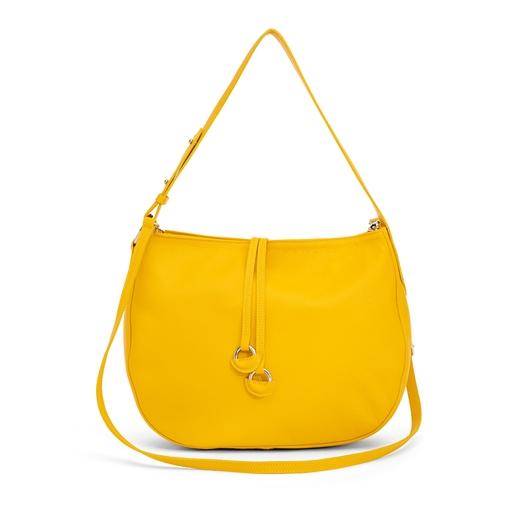 Sunny Moments Μικρή Δερμάτινη Τσάντα Ώμου-
