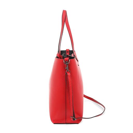 Style Fiesta Μεγάλη Δερμάτινη Τσάντα 'Ωμου-