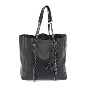 City Lover Big Leather Shoulder Bag-