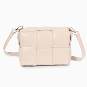 Square It medium size cassette shoulder bag with removable strap-