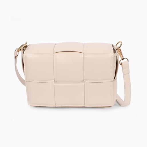 Square It medium size cassette shoulder bag with removable strap -