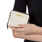 Fleur Riviera Small Continental Leather Wallet-