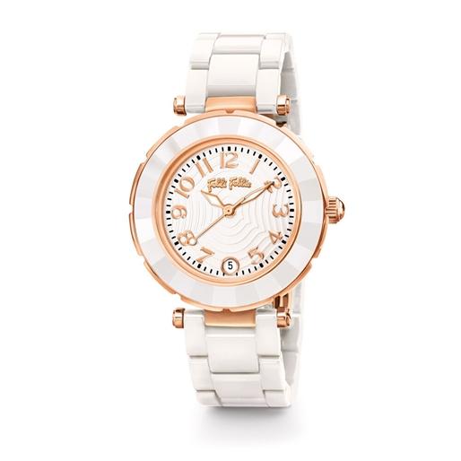 Beautime Μεσαία Κάσα Κεραμικό Ρολόι-