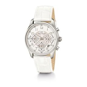 Timeless Μεγάλη Κάσα Δερμάτινο Ρολόι-