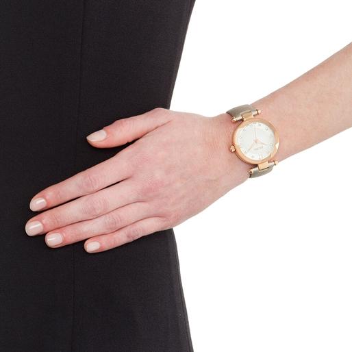 Classy Element Swiss Made Δερμάτινο Ρολόι-