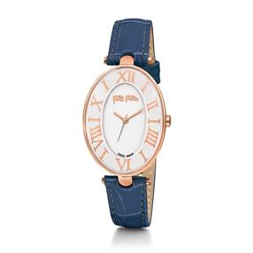 Romance Swiss Made Δερμάτινο Ρολόι-
