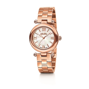 Aegean Breeze Round Case Bracelet Watch-