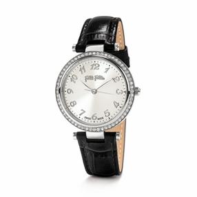 Classy Reflections Swiss Made Leather Bracelet Watch-