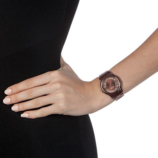 Time Illusion Μεγάλη Κάσα Κεραμικό Ρολόι-