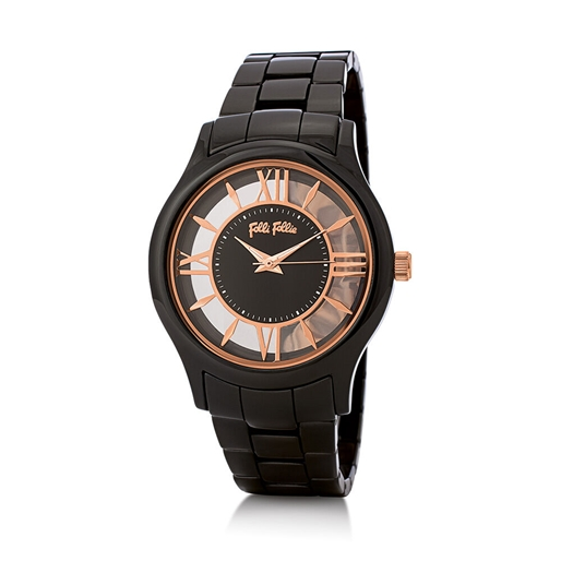Time Illusion Big Case Ceramic Watch-