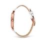 Lady Bubble Μεσαία Κάσα Δερμάτινο Ρολόι-