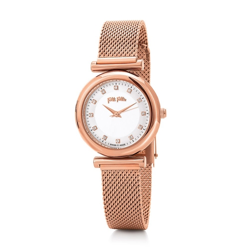 Sparkle Chic Small Case Bracelet Watch-