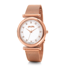 Sparkle Chic Big Case Bracelet Watch-