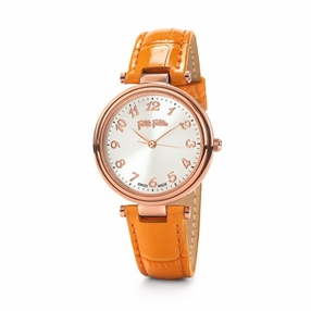 Classy Reflections Swiss Made Leather Watch-