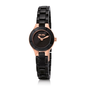 Miss FF Mini Case Ceramic Bracelet Watch-