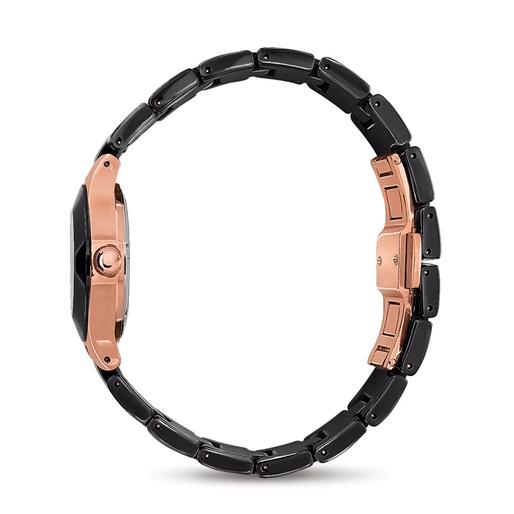 Miss FF Small Case Ceramic Bracelet Watch-
