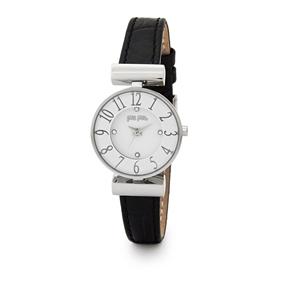 Dynasty Mini Case Leather Watch-