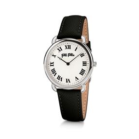 Perfect Match Μικρή Κάσα Δερμάτινο Ρολόι-