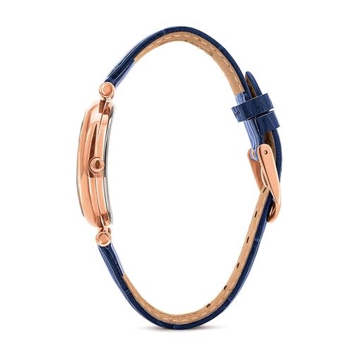 Wonderfly Oval Case Leather Watch-
