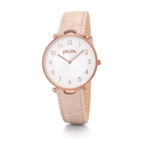 Lady Club Big Case Leather Watch-