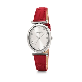 Wonderfly Oval Case Leather Watch-