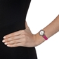 Miss Heart4Heart Extra Small Case Leather Watch -