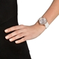Style Bonding Μεγάλη Κάσα Κεραμικό Μπρασελέ Ρολόι-