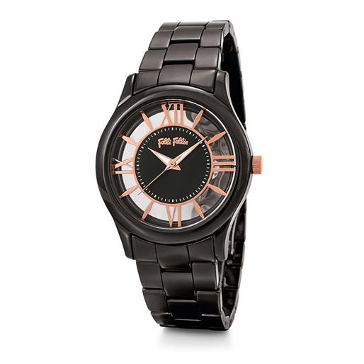 Time Illusion Μεσαία Κάσα Κεραμικό Ρολόι-