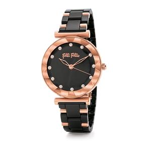 Star Flower Small Case Ceramic Bracelet Watch-